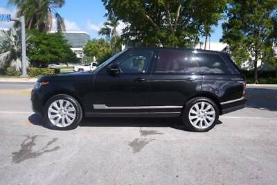 Range Rover Supercharged 4x4 4dr SUV 2015 Land Rover Range Rover SAupercharged Loaded!!!