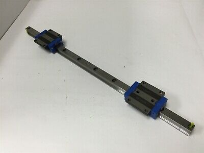 "Thomson 521H20A0559 Linear Rail, Length: 21.75"", With 2x Ball Carriages"