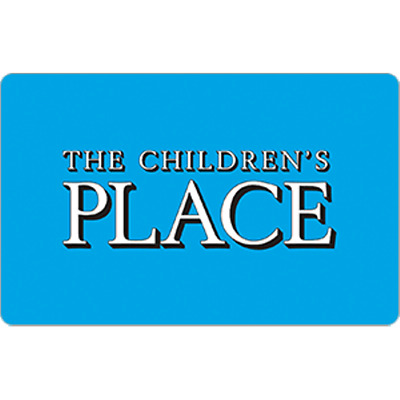 Childrens place Gift Card $50 Value, Only $46.00! Free Shipping!