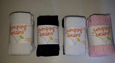 Toddler Girls Jumping Beans 2 Pk Sweater tights Various Color 3-12M 12-24M 2T-4T