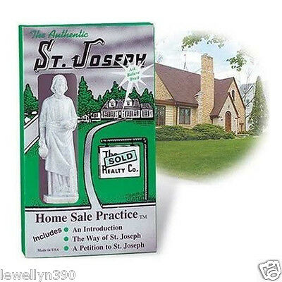Saint Joseph - House Selling Miracle - Home Sale Deluxe Kit - St Joseph Statue