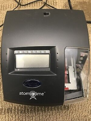 Lathem Time 1500E Atomic Time Clock/ Document Recorder Punch Clock NEW IN BOX