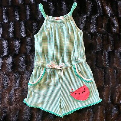 Marks & Spencer Girls Shorts Playsuit / All-In-One-3/4 Years-Excellent Condition