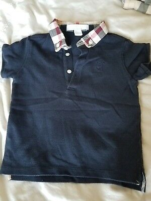 Baby Boy Burberry Polo Size 12 months