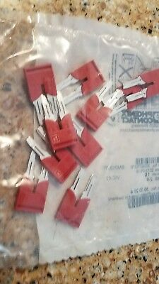 Lot of (10) Phoenix Contact FBS 2-8 Bridge Plug In New