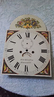 8 Day Longcase clock movement and Dial