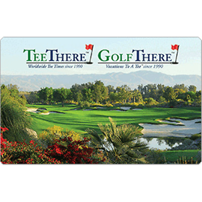 Golf There Gift Card $50 Value, Only $25.00! Free Shipping!