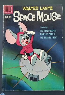 Walter Lantz Space Mouse Comic Book, DELL Four Color #1132, 1960, FN+ 6.5