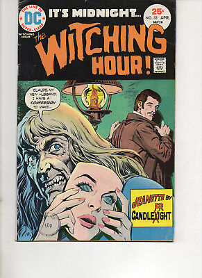 Witching Hour 53 Very Fine+ 1975 Dc Bronze Age Comic