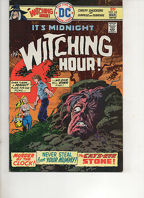 Witching Hour 62 Very Fine+ 1976 Dc Bronze Age Comic