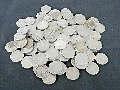 121 Buffalo Nickels Mixed Dates