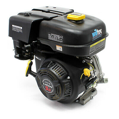 "LIFAN 177 petrol gasoline engine 6.6kW (9HP) 1"" (25.4mm) air-cooled recoil start"