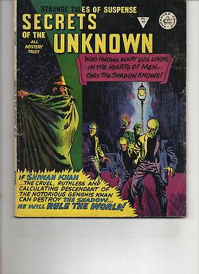 Secrets Of The Unknown 91 Very Good+ Alan Class Bronze Age Comic