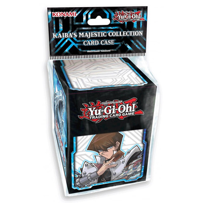YuGiOh Kaiba's Majestic Collection DECK BOX CARD CASE KONAMI Holds 100 Cards