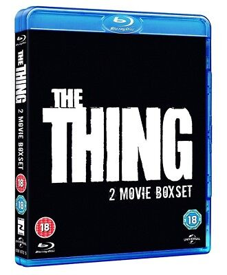 The Thing (1982)/The Thing (2011) [Blu-ray] Two Movie Boxset NEW