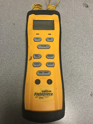 Fieldpiece ST4 Dual Input Digital Thermometer without thermocouples w case....