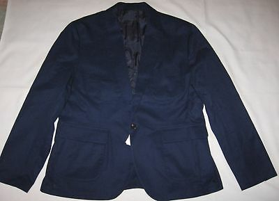 J.CREW BRAND NEW (NWT) MEN'S COTTON CASUAL SPORT JACKET Retail:$218+Tax