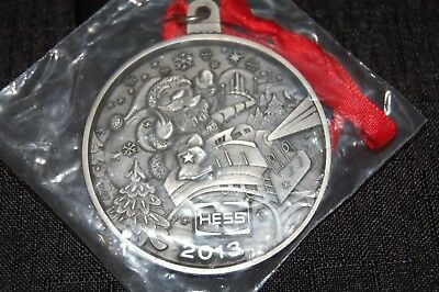 Hess Oil Company Logo 2013 Santa Train Christmas Ornament, Employees.  New!