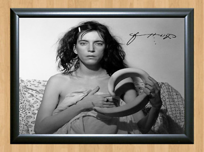 Patti Smith Mapplethorpe Signed Autographed A4 Photo Print Poster Memorabilia cd