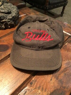 huge selection of 3cde8 e83b6 ... coupon for vintage chicago bulls script logo snapback hat sports  specialties d5f94 21c11