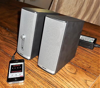 Bose Companion 2 Series II - Multimedia Speaker System Tested & Working