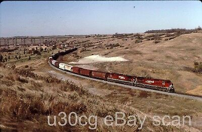 CP Canadian Pacific AC4400CW 9535 Valley City, ND 2000 - Original slide