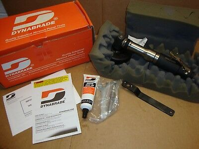 """NEW Dynabrade 54789 4"""" Extended Right Angle Air Grinder 12,000-RPM Type 27"""