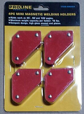 4pc Tack Welding Holder Magnetic Arrow Soldering 10lb