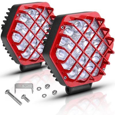 """AUTOSAVER88 5"""" Led Light Bars, 48W 5D Pods 4800LM 2018, Offroad Fog Driving..."""