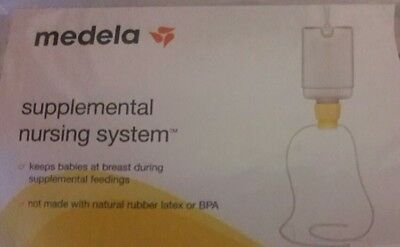 Medela Supplemental  Nursing System SNS Breast Milk Feeding 00901S