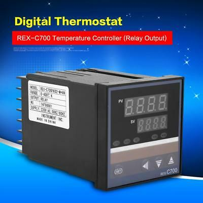 REX-C700 0-400℃ Digital PID Temperature Controller Thermocouple 220V DC4-20mA zg