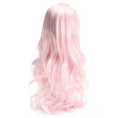70CM Curly Hair Party Cosplay Long Wavy Hair Women Girl Wigs Heat Sexy Wig 70CM