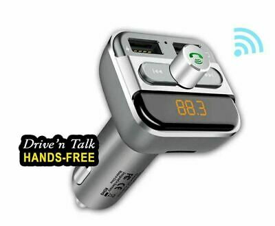 SANSAI Bluetooth Car Kit FM Transmitter AUX MP3