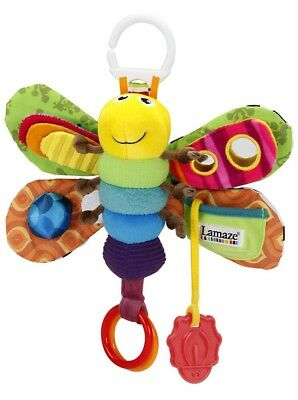 UK STOCK Lamaze Freddie The Firefly Grow Baby Child Soft Toy DELIVERY FAST