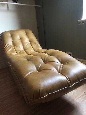 Chaise Longue Psychiatrists Chair Vintage Retro 1950s?