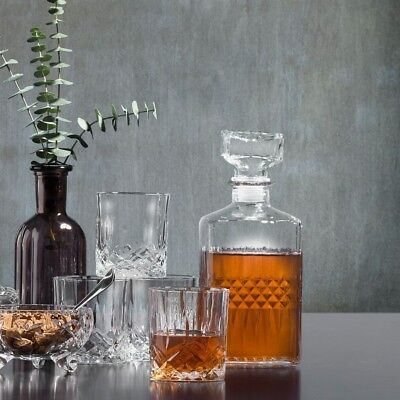 Whisky-Set 5teilig - Glas klar