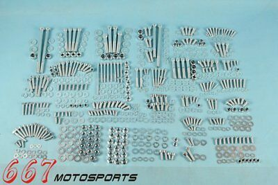 632 Piece Polished Stainless Steel Bolt Kit Body Screws For Yamaha Banshee 87-06