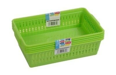 Plastic Handy Fruit Vegetable Basket - Kitchen & Office Storage