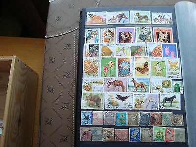 ASIE - 48 stamps canceled (all state) stamp