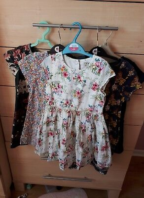 Girls dresses 4-5 next. some brand new