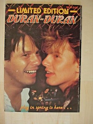 Ltd Edition Duran Duran & Fold Out Picture
