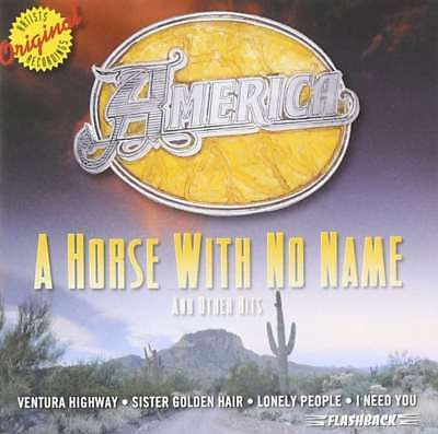 New: AMERICA - A Horse With No Name (Best of/Greatest Hits) CD