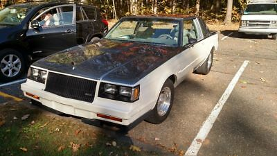 1987 Buick Grand National  1987 Buick Regal Grand National T-Type
