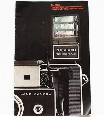 Polaroid The 400s Four New Cameras 420 430 440 450 Reference Brochure RARE