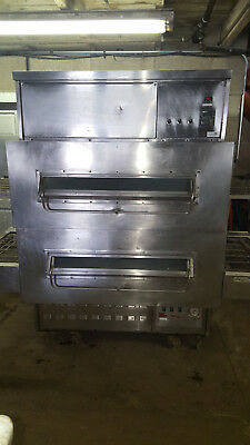 Middleby Marshall 360/350 Double Stack Pizza Conveyor Ovens Natural Gas Tested