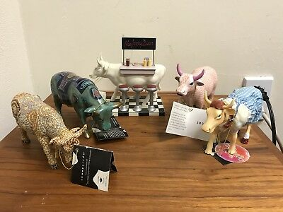 Cows On Parade -Lot Of 5