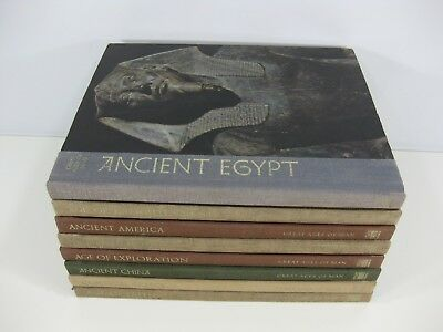 Time Life Books Great Ages of Man 8 Volumes Illustrated World History Series