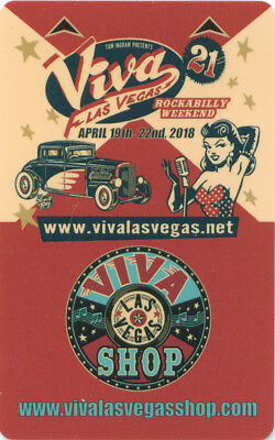 Room Key Pair, VIVA Las Vegas, ROCKABILLY Weekend, The Orleans and Gold Coast