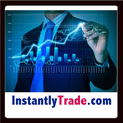 InstantlyTrade.com PREMIUM Trade/Bitcoin/Crypto Currency Exchange Domain Name NR