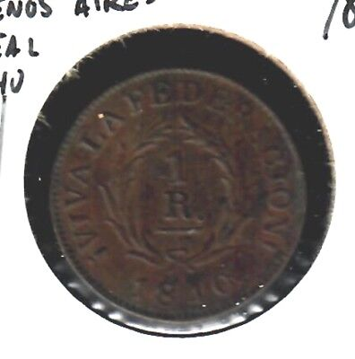 Argentina Buenos Aires 1 Real 1840